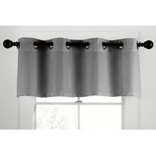 <strong>Veratex, Inc.</strong> Gotham Ramie Linen Grommet Tailored Curtain Valance