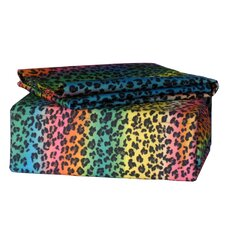 <strong>Veratex, Inc.</strong> Rainbow Leopard Sheet Set
