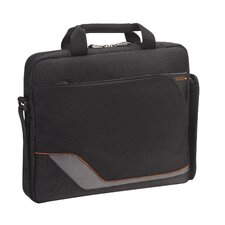 <strong>Solo Cases</strong> Vector Slim Laptop Briefcase