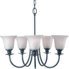 Valhalla 5 Light Chandelier