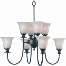 Valhalla 8 Light Chandelier