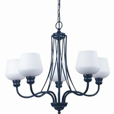 Gibson 5 Light Chandelier