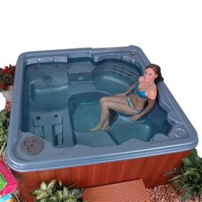 <strong>QCA Spas</strong> Antigua 6 Person 30 Jet Lounger Spa