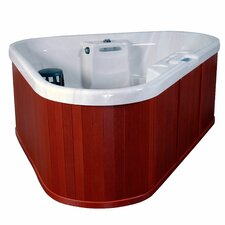 <strong>QCA Spas</strong> Bermuda 3 Person 12 Jet Corner Spa