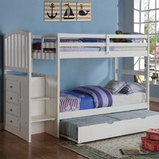 <strong>dCOR design</strong> Donco Kids Twin Standard Bunk Bed with Trundle