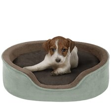 <strong>Soft Touch</strong> Reversible Cuddler Bolster Dog Bed