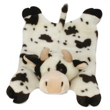 <strong>Go Dog</strong> Barnyard Buddy Cow Dog Toy