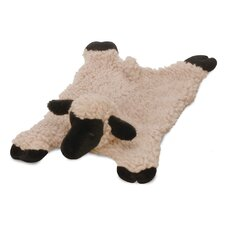 Mini Barnyard Buddy Lamb Dog Toy