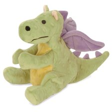 Dragon Dog Toy in Lime Green