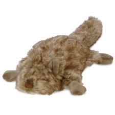 Furry Flatties Quirrely the Squirrel Dog Toy