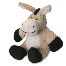 Checkered Donkey Dog Toy