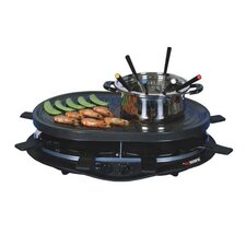 Grill Pot with Thermostat Control