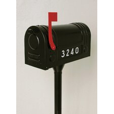 Matching Pole and Mounting Kit for Curbside Mailbox