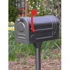 Curbside Post Mounted Mailbox