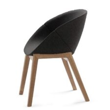 Coquille-L Arm Chair