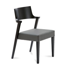 Lirica Leather Side Chair
