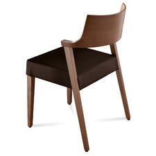 <strong>Domitalia</strong> Lirica Leather Side Chair