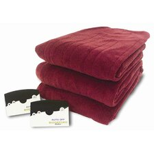 Knit Microplush Polyester Warming Blanket