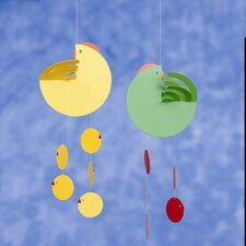 <strong>Flensted Mobiles</strong> Easter Hen Mother Mobile in Yellow