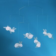 <strong>Flensted Mobiles</strong> Circular Bunnies Mobile