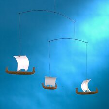 <strong>Flensted Mobiles</strong> Viking Mobile with Three Ships