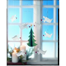 <strong>Flensted Mobiles</strong> Eight Christmas Angels of Love Mobile