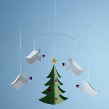 <strong>Flensted Mobiles</strong> Four Christmas Angels of Love Mobile