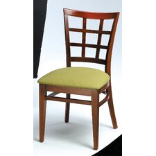 Melissa Window Back Wood Dining Chair (Set of 2)