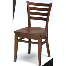 <strong>Grand Rapids Chair</strong> Melissa Ladder Back Wood Dining Chair