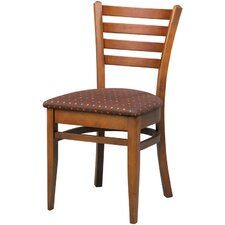 Melissa Ladder Back Wood Dining Chair (Set of 2)