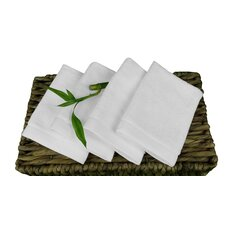 Bamboo Wash Cloth (Set of 4)