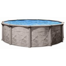 Aqua Deluxe Round Above Ground Pool