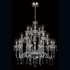 Villa 20 Light Crystal Chandelier