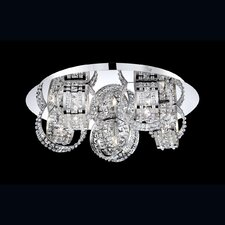 Yorkville 5 Light Flush Mount