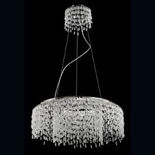 Fonte 8 Light Crystal Pendant