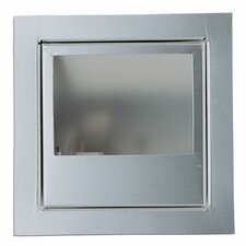 In Wall 1 Light Square Recessed Kit