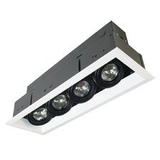 4 Light MR16 Multiple Recessed Kit