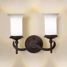 Foxboro 2 Light Vanity Light
