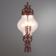 Prefect 3 Light Post Lantern