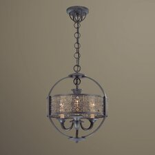 Arsenal 3 Light Chandelier