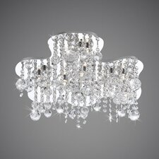 <strong>Eurofase</strong> Alissa 10 Light Semi Flush Mount