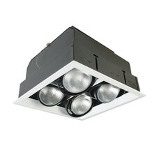 4 Light Square Multiple Recessed Kit