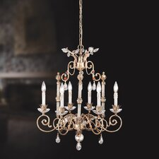 <strong>Eurofase</strong> Dahila 6 Light Chandelier