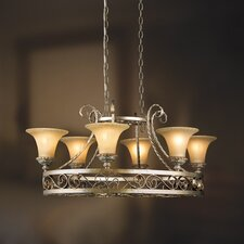 Seraphine 6 Light Pot Rack Chandelier
