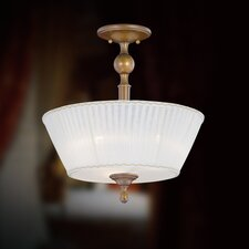 Locksley 3 Light Semi Flush Mount