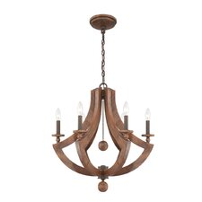 Lenio 6 Light Chandelier