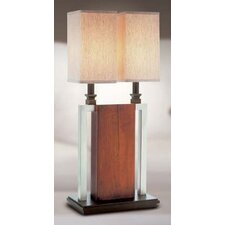 "Sango 27.5"" H Table Lamp with Square Shade"