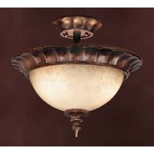 Tiverton 3 Light Semi Flush Mount
