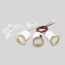 3 Light Mini Pot Recessed Kit