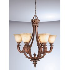 Tiverton 6 Light Chandelier